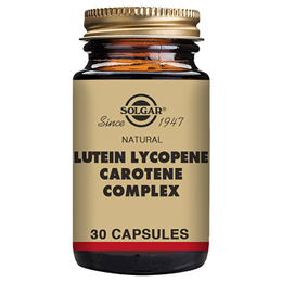 Solgar Lutein Lycopene Carotene Complex - Carotenoids - 30 Vegicaps - Best before date is 28th February 2019