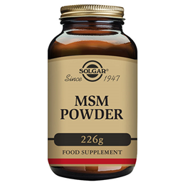 Solgar MSM Powder - Organic Sulfur - 226g Powder