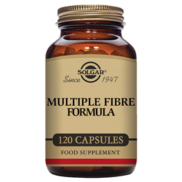 Solgar Multiple Fibre Formula - Plant Fibres - 120 Vegetable Capsules