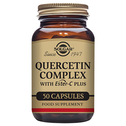 Solgar Quercetin Complex - with Vitamin C as Ester C - 50 Vegicaps