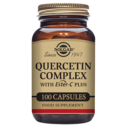 Solgar Quercetin Complex - with Vitamin C as Ester C - 100 Vegicaps