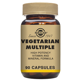 Solgar Vegetarian Multiple - Multivitamin & Minerals - 90 Vegicaps