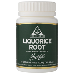 Bio Health Liquorice Root - 60 x 400mg Vegicaps