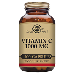 Solgar Vitamin C - 100 x 1000mg Vegicaps
