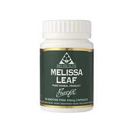 Bio Health Melissa Leaf - 60 x 450mg