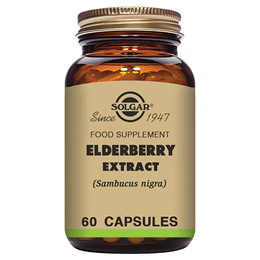 Solgar Elderberry Extract - Botanical Formula - 60 Vegicaps