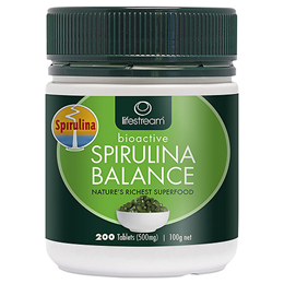 Lifestream Spirulina Balance - 200 Tablets