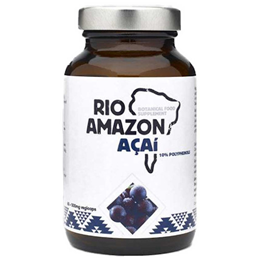 RIO AMAZON Acai - 60 x 500mg Vegicaps - Best before date is 31st March 2021