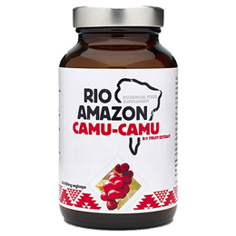 RIO AMAZON Camu-Camu 8:1 Extract - Vitamin C - 60 x 500mg Vegicaps