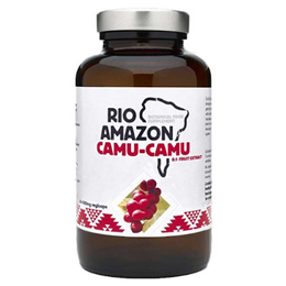 RIO AMAZON Camu-Camu 8:1 Extract - Vitamin C - 120 x 500mg Vegicaps