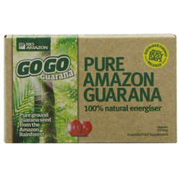 RIO AMAZON GoGo Guarana - Energy - 20 x 500mg Vegicaps