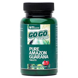 RIO AMAZON GoGo Guarana - Energy - 120 x 500mg Vegicaps