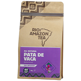 RIO AMAZON Pata De Vaca - Leaf Tea - 40 x 1500mg Teabags