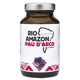 RIO AMAZON Pau D`Arco - 60 x 500mg Vegicaps