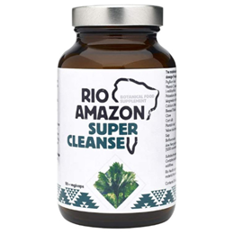 RIO AMAZON Super Cleanse - Support Healthy Digestion - 50 Vegicaps