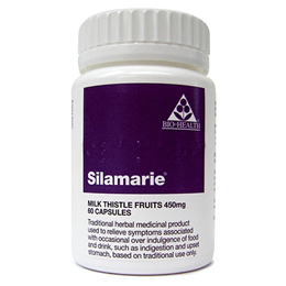 Bio Health Silamarie - Milk Thistle Fruits - 60 x 450mg Capsules
