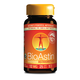 Nutrex BioAstin Hawaiian Astaxanthin One-a-Day - 25 x 12mg Gel Caps
