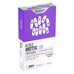 Quest Kidz Biotix - Childrens Friendly Bacteria - 30 Chewable Tablets