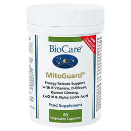 BioCare Mitoguard - Energy Release Support with D-Ribose - 60 Vegicaps