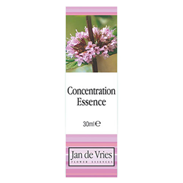 Jan de Vries Concentration Essence - Flower Tincture - 30ml