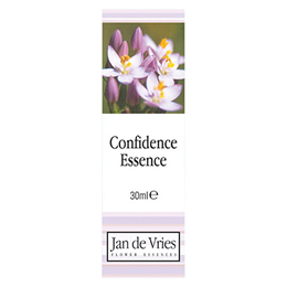 Jan de Vries Confidence Essence - Flower Tincture - 30ml