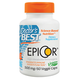 Doctors Best EpiCor - Immune System Support - 60 x 500mg Vegicaps