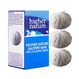 Higher Nature SaltPipe Mini Refill - Contains 3 Replacement Salt Bags