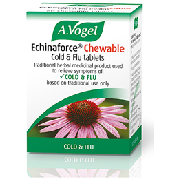 A Vogel Echinaforce for Colds & Flu - 80 Chewable Tablets