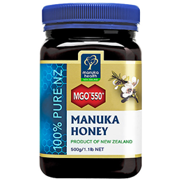 Manuka Health MGO 550+ Manuka Honey- 500g