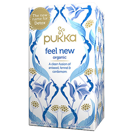 Pukka Teas Organic Feel New - 20 Teabags x 4 Pack