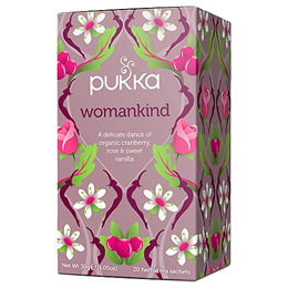 Pukka Teas Womankind - Cranberry, Rose & Vanilla - 20 Teabags x 4 Pack