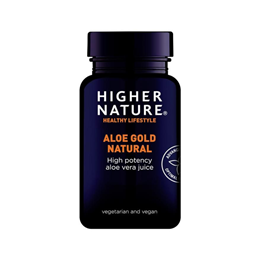 Higher Nature Aloe Gold - Organic Aloe Vera Juice - 1000ml
