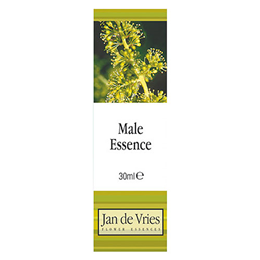 Jan de Vries Male Essence - Flower Tincture - 30ml