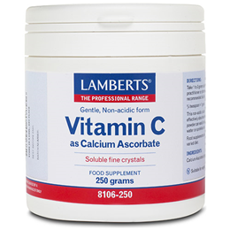 LAMBERTS Vitamin C as Calcium Ascorbate  - 250g