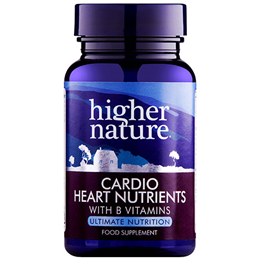 Higher Nature Cardio Heart Nutrients Tri-methyl Glycine - 30 Vegicaps