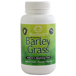 Lifestream Barley Grass Powder - Certified Organic - 100g