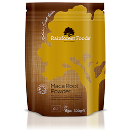 Rainforest Foods Organic Maca Root - 300g Powder
