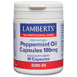 LAMBERTS Peppermint Oil 50mg - 90 Capsules