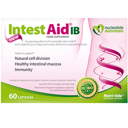Nucleotide Nutrition IntestAid IB - Natural Cell Division -60 Capsules