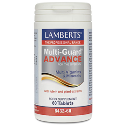 LAMBERTS Multi-Guard Advance - Over 50`s - Multivitamins - 60 Tablets