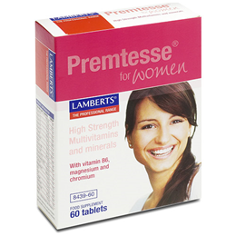 LAMBERTS Premtesse (For Women Of Menstruating Age) - 60 Tablets