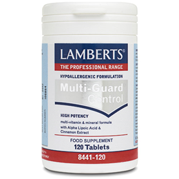 LAMBERTS Multi-Guard Control - 120 Tablets