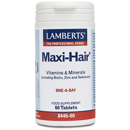 LAMBERTS Maxi-Hair - Vitamins & Minerals - 60 Tablets