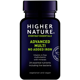 Higher Nature Maxi Multi - Without Added Iron - 90 tablets
