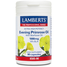 LAMBERTS Evening Primrose Oil with Starflower Oil - 90 x 1000mg Capsules
