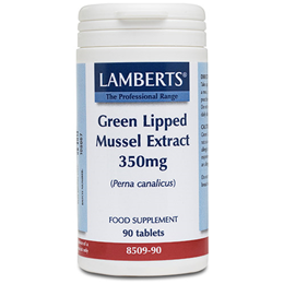 LAMBERTS Green Lipped Mussel Extract 350mg - 90 Tablets