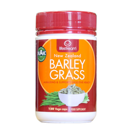 Lifestream Barley Grass - Certified Organic - 120 Vegicaps