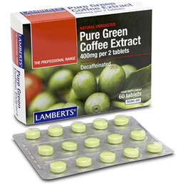 LAMBERTS Pure Green Coffee Extract - 60 Tablets