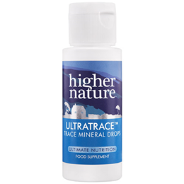 Higher Nature UltraTrace - Ionic Trace Mineral Supplement - 57ml