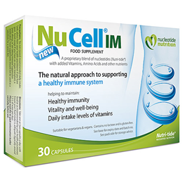 Nucleotide Nutrition NuCell IM - Immune System Support - 30 Capsules